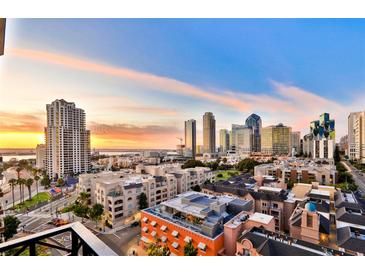 Photo one of 500 W Harbor Dr # 1307 San Diego CA 92101 | MLS 180025907